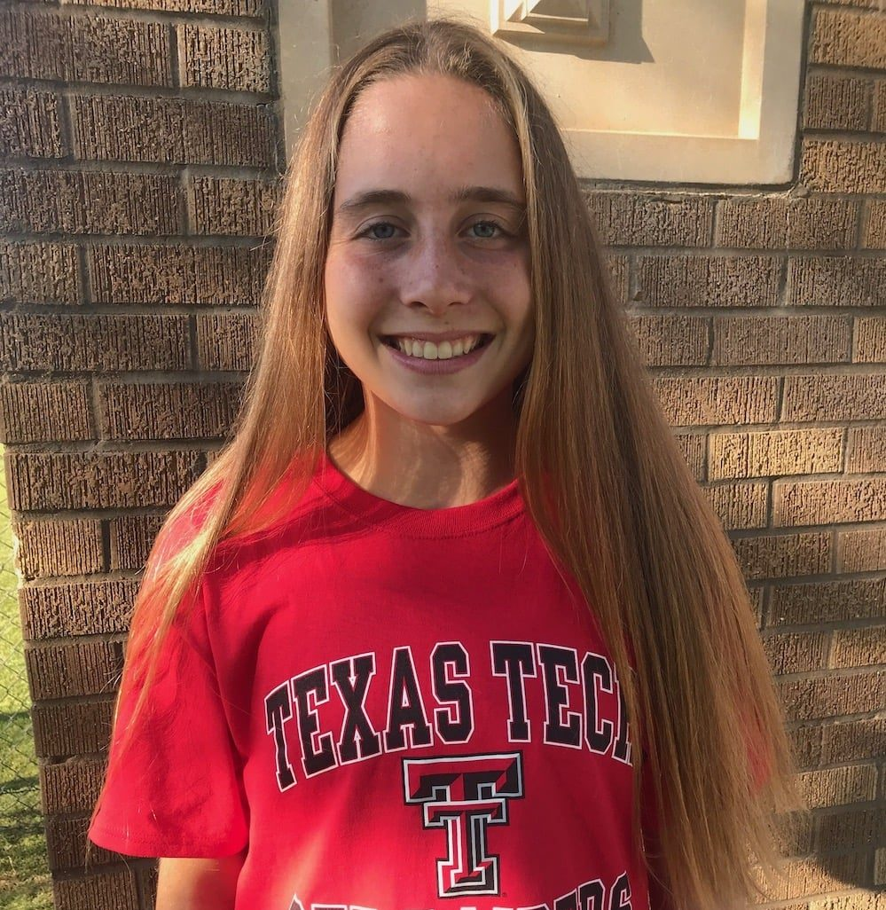Hailey Palmer signed with Texas Tech