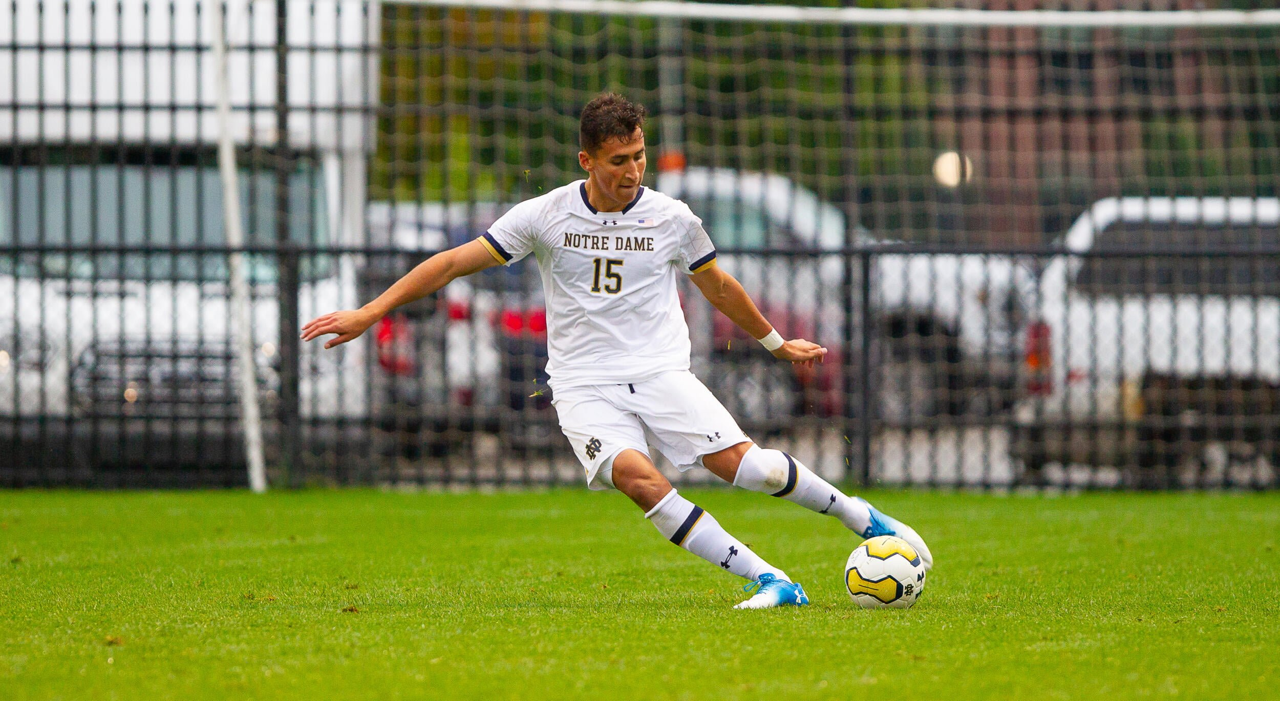 Soccer Tournament action between University of Notre Dame vs. Seattle University at Alumni Stadium on September 6, 2019 in South Bend, Indiana.